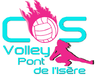 COS VOLLEY PONT DE L'ISERE