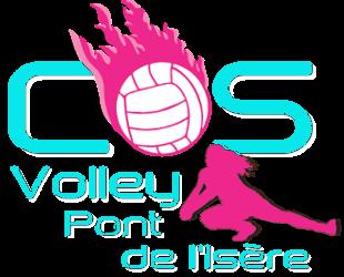 COS VOLLEY PONT DE L'ISERE